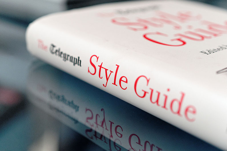 The Telegraph Style Guide