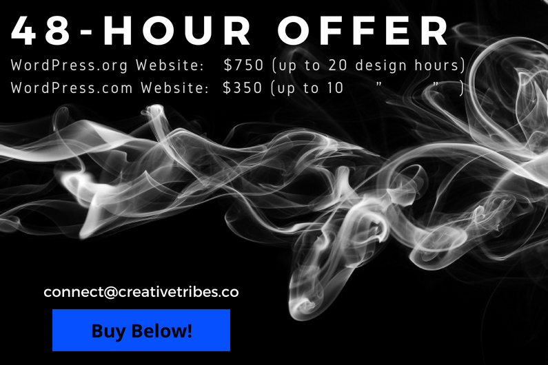 48-Hour Offer - #CreativeTribes Web Design