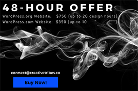48-Hour Weekend Offer #CT Web Design