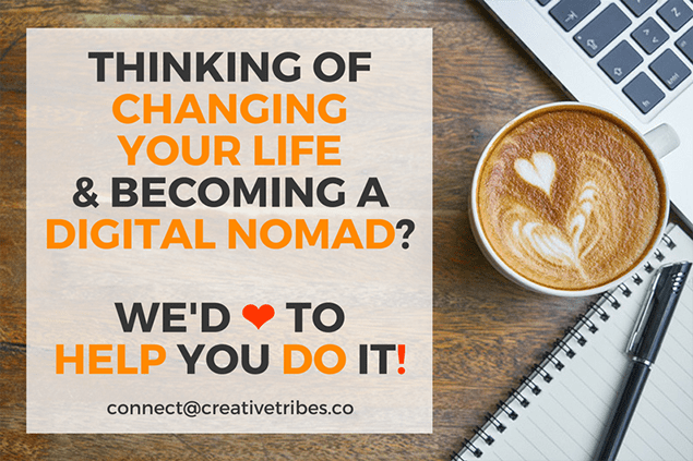 Digital Nomad Mentoring by CreativeTribes.co