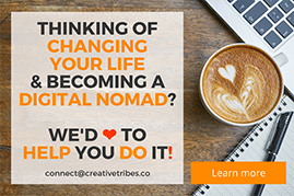 Digital Nomad Mentoring CreativeTribes.co