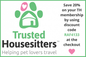 TrustedHousesitters Discount Code 20 Percent